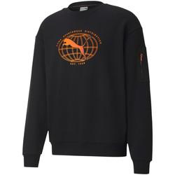 Textil Muži Mikiny Puma 530291 Černá