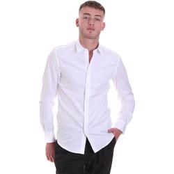 Textil Muži Košile s dlouhymi rukávy Antony Morato MMSL00628 FA400079 Bílý