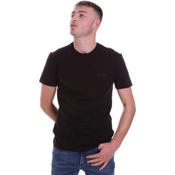 Textil Muži Trička s krátkým rukávem Antony Morato MMKS01855 FA120022 Černá