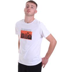 Textil Muži Trička s krátkým rukávem Antony Morato MMKS01880 FA100144 Bílý