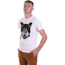 Textil Muži Trička s krátkým rukávem Antony Morato MMKS01878 FA100144 Bílý