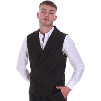 Textil Muži Svetry / Svetry se zapínáním Antony Morato MMVS00004 FA650205 Černá