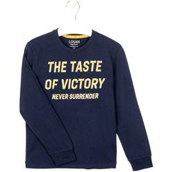 Textil Chlapecké Mikiny Losan 023-1007AL Modrý