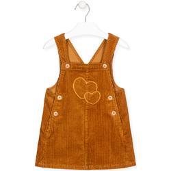 Textil Dívčí Overaly / Kalhoty s laclem Losan 026-7024AL Žlutá