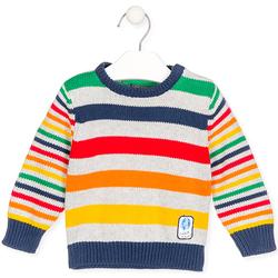 Textil Děti Svetry Losan 027-5003AL Šedá