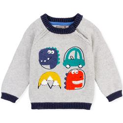 Textil Děti Svetry Losan 027-5004AL Šedá