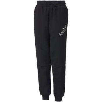 Textil Děti Teplákové kalhoty Puma 583243 Černá
