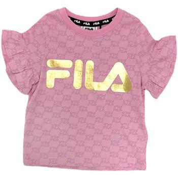 Textil Dívčí Trička s krátkým rukávem Fila 688038 Růžový