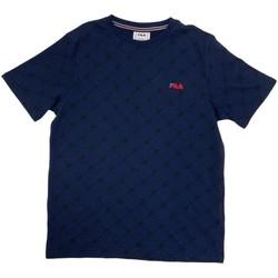 Textil Chlapecké Trička s krátkým rukávem Fila 688084 Modrý