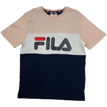 Textil Děti Trička s krátkým rukávem Fila 688141 Růžový