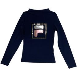 Textil Děti Trička s dlouhými rukávy Fila 688102 Modrý