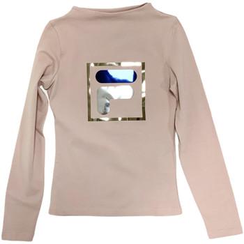 Textil Děti Trička s dlouhými rukávy Fila 688102 Béžový