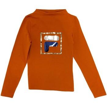 Textil Děti Trička s dlouhými rukávy Fila 688102 Oranžový