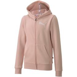 Textil Děti Mikiny Puma 583291 Růžový