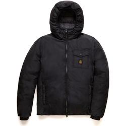 Textil Muži Prošívané bundy Refrigiwear RM0G12203NY0176 Černá
