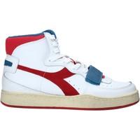 Boty Muži Kotníkové tenisky Diadora 501174766 Bílý