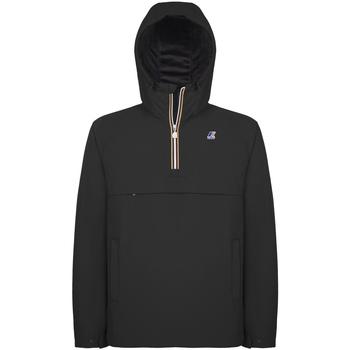 Textil Muži Větrovky K-Way K0095B0 Černá