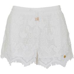 Textil Ženy Kraťasy / Bermudy Superdry G71102OT Bílý