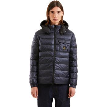 Textil Muži Prošívané bundy Refrigiwear RM5G06600NY9132 Modrý
