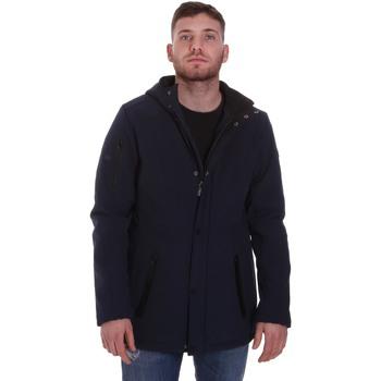 Textil Muži Parky Lumberjack CM50221 003 404 Modrý
