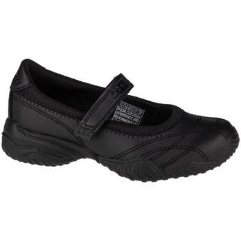 Boty Dívčí Šněrovací polobotky  & Šněrovací společenská obuv Skechers Velocitypouty Černé