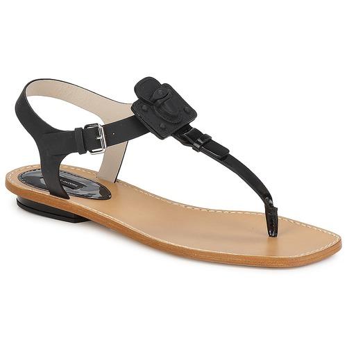 Boty Ženy Sandály Marc Jacobs CHIC CALF Černá