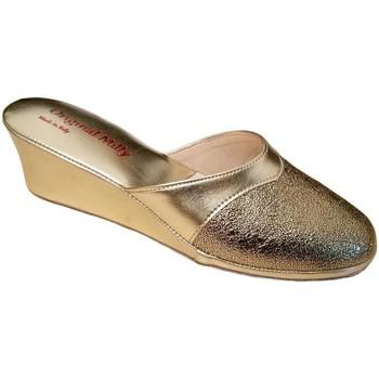 Boty Ženy Pantofle Milly MILLY4000oro grigio