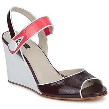 Boty Ženy Sandály Marc Jacobs VOGUE GOAT Bordó / Růžová