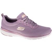 Boty Ženy Nízké tenisky Skechers Flex Appeal 30 Fialové