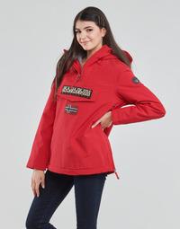Textil Ženy Parky Napapijri RAINFOREST WINTER Červená