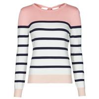 Textil Ženy Svetry Betty London ORALI Růžová / Krémově bílá