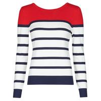 Textil Ženy Svetry Betty London ORALI Červená / Krémově bílá