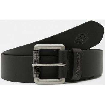 Textilní doplňky Muži Pásky Dickies South shore leather belt Černá