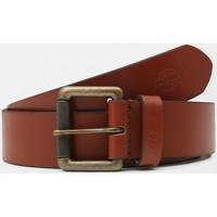 Textilní doplňky Muži Pásky Dickies South shore leather belt Hnědá