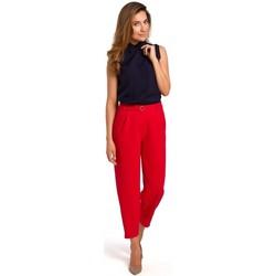 Textil Ženy Halenky / Blůzy Style S172 Košile bez rukávů - tmavě modrá