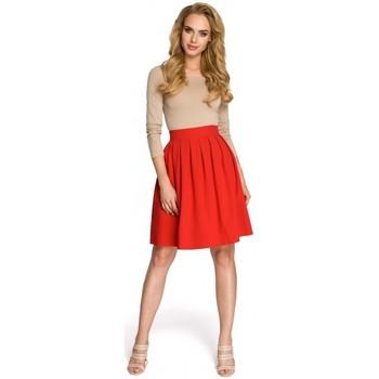 Textil Ženy Sukně Moe M237 Sukně - červená