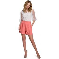 Textil Ženy Kraťasy / Bermudy Makover K049 Relaxační šortky - oranžové