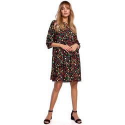 Textil Ženy Krátké šaty Moe M521 Šaty s nařasenými rukávy - model 6