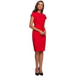 Textil Ženy Krátké šaty Style S240 Zavinovací šaty - černé