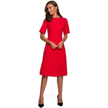 Textil Ženy Krátké šaty Style S240 Zavinovací šaty - tmavě modré