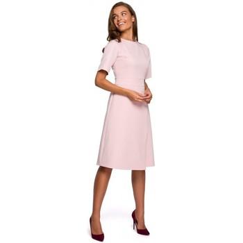 Textil Ženy Krátké šaty Style S241 Jednodílný overal s dvojitým předním dílem - černý