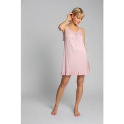 Textil Ženy Pyžamo / Noční košile Lalupa LA031 Viskózová košilka - růžová