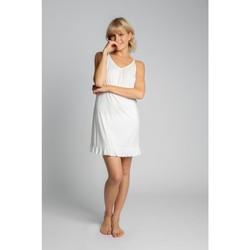 Textil Ženy Pyžamo / Noční košile Lalupa LA031 Viskózová košilka - ecru