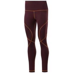 Textil Ženy Legíny Reebok Sport Wor Myt Stitch Tight Vínově červené