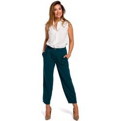 Textil Ženy Kapsáčové kalhoty Style S172 Košile bez rukávů - ecru