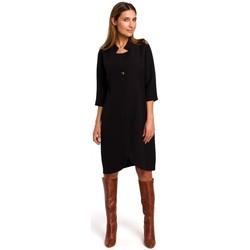 Textil Ženy Krátké šaty Style S189 Černé blejzrové šaty