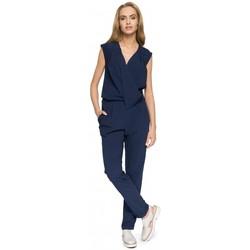 Textil Ženy Overaly / Kalhoty s laclem Moe S033 Šaty - černé