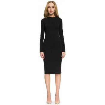 Textil Ženy Šaty Style S033 Šaty - hnědé