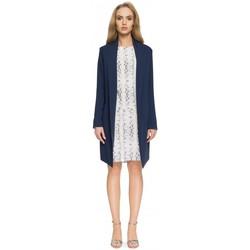 Textil Ženy Obleková saka Style S071 Dlouhé sako - tmavě modré