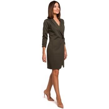 Textil Ženy Šaty Style S217 Blejzrové šaty - khaki